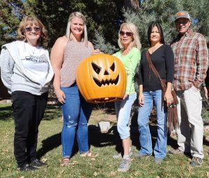 Halloween Winners: The Taylor and Yaddow Families