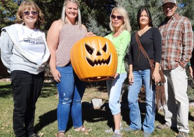 Halloween Winners: The Taylor and Yaddow Families